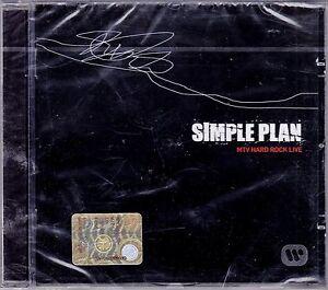 CD-Compact-disc-SIMPLE-PLAN-MTV-HARD-ROCK-LIVE-nuovo-sigillato