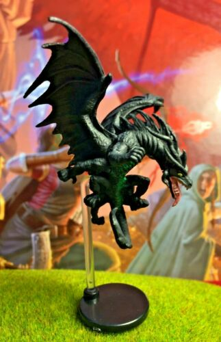 Dracolisk D/&D Miniature Dungeons Dragons pathfinder deep young wyvern wyrmling Z