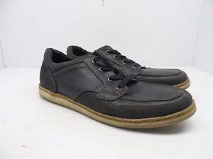 Denver Hayes Casual Lace-Up Men's Black Shoes 9M