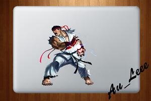 Details about Macbook Air Pro Skin Sticker Decal - Street Fighter Ryu  Hadouken 2 #CMAC038