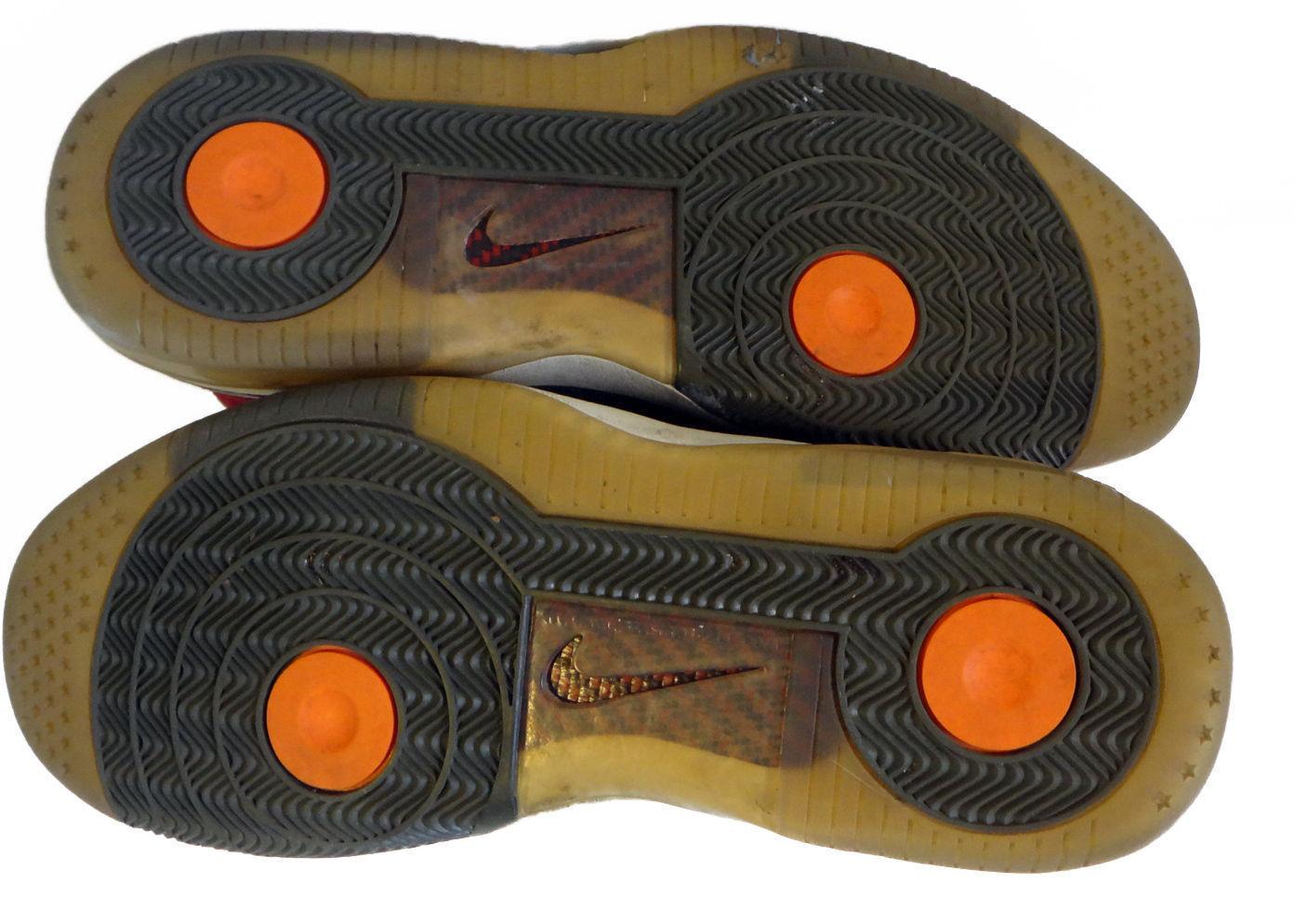 Nike air air Nike force 25 af25 uns 12 46 eur patent glänzende leder rot - blau 0ca73f
