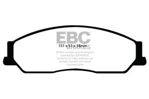 EBC-Greenstuff-Plaquettes-Frein-Avant-Pour-Toyota-aus-NZ-Camry-3-0-Azura-2002-gt-06
