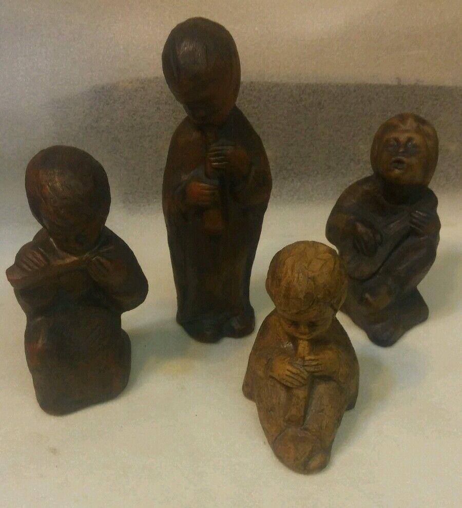 E742  musizierende Kinder Keramik Figuren | | |   9ebc3f