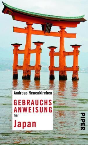 1 von 1 - Gebrauchsanweisung für Japan (2016) - Andreas Neuenkirchen - UNGELESEN
