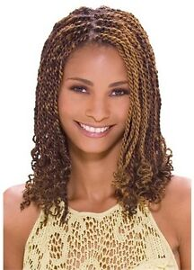 Image Is Loading Model Glance Chunky Twist Braid Hair Extension