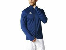 Adidas BR2707 Tiro 17 Blue White Climacool Soccer Training Jacket Youth Big Kids