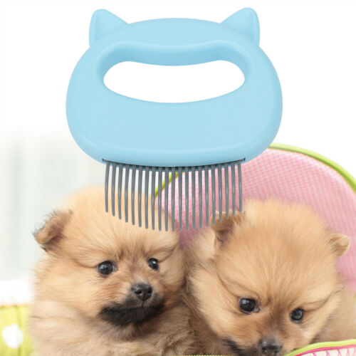 Pet Shell Comb Cat Dog Fur Hair Brush Grooming ABS Cleansing Tool  3 Colors