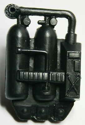 Lanard CORPS Military Vintage Accessory Backpack Flamethrower Gas Tanks Black