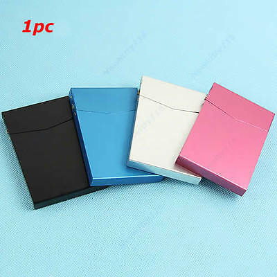 Fashion Business Card Case Holder Box Automatic Switch Cigarette Case Pocket