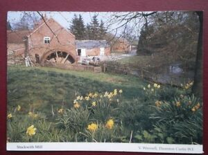 POSTCARD-LINCOLNSHIRE-STOCKWITH-MILL