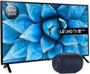 LG 49UN73006LA 4K Ultra HD Smart TV & LG PL2 X-Boom Speaker