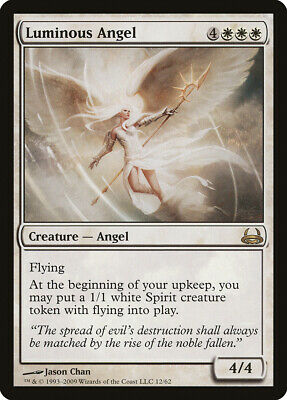 Luminous Angel Divine vs Demonic PLD White Rare MAGIC MTG CARD ABUGames