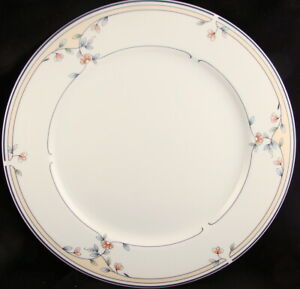 Princess-House-HERITAGE-BLOSSOM-Dinner-Plate-s-READ