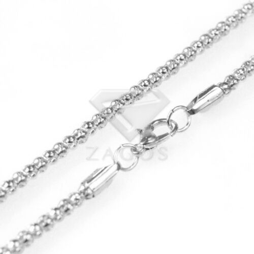 """70cm//28/"""" Iron Corn Chain for Necklace Jewellery 5 Colors 2.4//3.2mm 1//5//10pcs"""