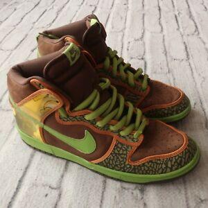 low priced 8fe39 14305 Details about Vintage 2005 Nike Dunk High Pro SB De La Soul Shoes 305050-231