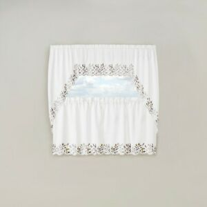 Bloom Kitchen Curtains Swag Valance