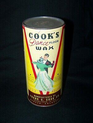 Vintage Cook S Dance Floor Wax Unused Full Container Ebay