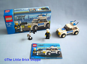 Lego-City-7236-POLICE-CAR-Boxed-and-complete-with-instructions