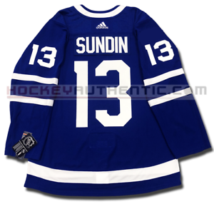 2457286c2b6 MATS SUNDIN TORONTO MAPLE LEAFS HOME AUTHENTIC PRO ADIDAS NHL JERSEY ...