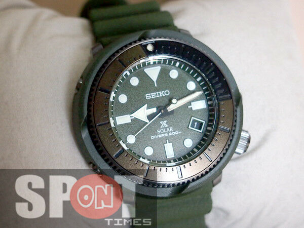 116f13a5466d Seiko Prospex Tuna Street Series Green Solar Power Men s Watch Sne535 for  sale online