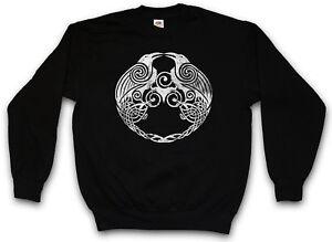 Pullover Odhin Gott Odin Wikinger Ravens Munin Hugin And Walhalla Raben Und  Ii tXwABAxqn7 9a59409beec