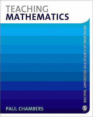 Teaching Mathematics (Developing as a Reflective Secondary Teacher)-ExLibrary