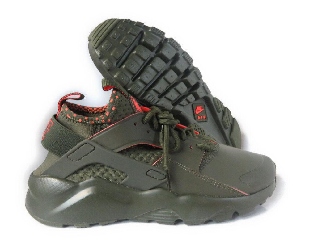 Nike Air Huarache SE Run Ultra SE Huarache Cargo Khaki Total Crimson sz 11.5 875841-301 Shoe c9d276