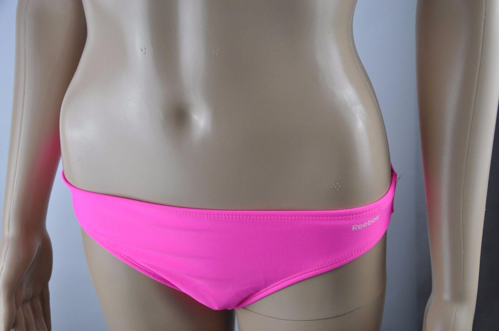 Reebok Bikini Brief Pants Pink Briefs Swim Bottoms Size XS/S/M/L New Trend