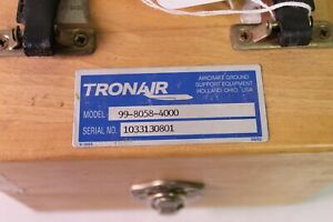 9061-Tronair-Lift-Transducer-Test-Kit-Cert-Of-Cali-P-N-99-8058-4000