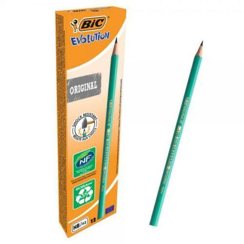 12 24 36  BIC EVOLUTION Bleistift Bleistifte Stift Härte HB