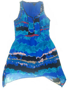 I-Heart-Ronson-Womens-Dress-Blue-Size-6