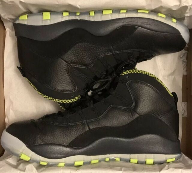 official photos 11821 c734d Mens Nike Air Jordan 10 Venom Green Size 11.5 310805-033
