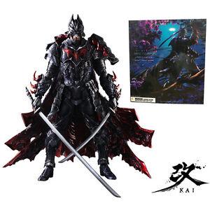Play-Arts-KAI-Batman-Timeless-Bushido-PVC-Action-Figures-Statue-Model-Comics-Toy