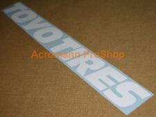 """35"""" 89cm TOYO TIRES windshield decal sticker d1gp drift JDM USDM windscreen t1r"""