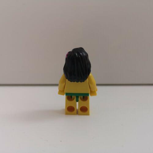 Hula Dancer Lego Series 3 CMF Genuine Minifigure /& Plate