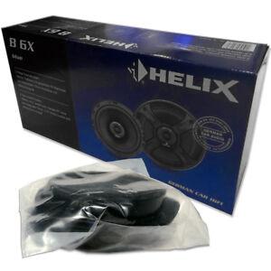 Helix-B-6X-16-5cm-2-Wege-koax-Lautsprecher-Paar-fuer-Audi-A4-gt-2002-Front-Heck