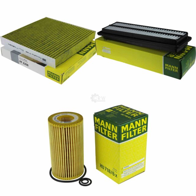 MANN FILTER Paket MANNOL Klimareiniger Honda Accord VII CL 2.2 i-CTDI