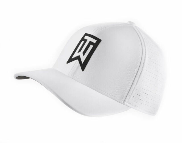 b12c0cd8b48 2018 Nike Tiger Woods Aerobill Classic 99 Perforated White Fitted S ...