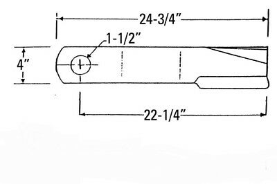 bush hog schematics rotary cutter blade bush hog 1126 1126rs 1226 1226rs 126 12610  rotary cutter blade bush hog 1126