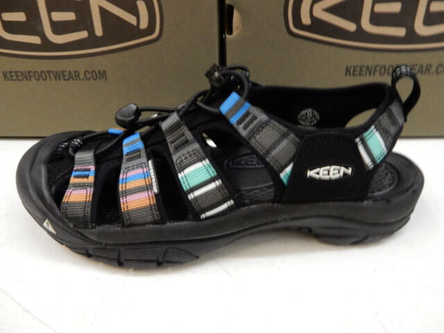 cebbb9852380 KEEN Womens Newport H2 Raya Black Size 6 for sale online