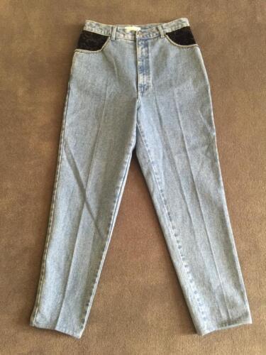 Detail Udbrændthed Jeans Størrelse Cache Ben Rhinestones Rett Embellished 12 Fløjl tqw4Iw6