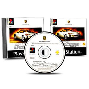 Playstation-1-PS1-Jeu-Porsche-Defier-Emballage-D-039-Origine-avec-Manuel