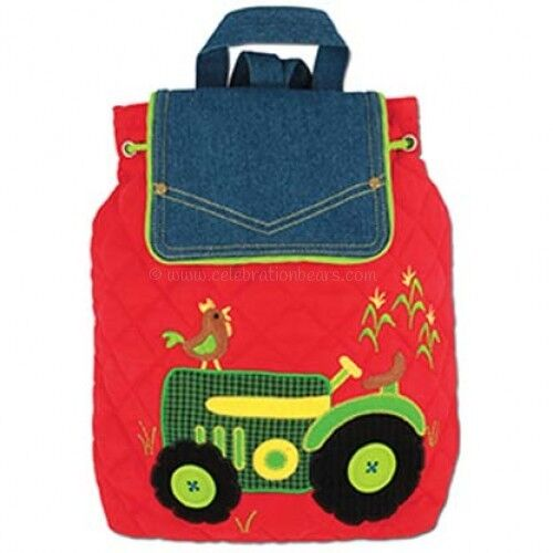 Stephen Joseph Boys Signature Tractor Quilted