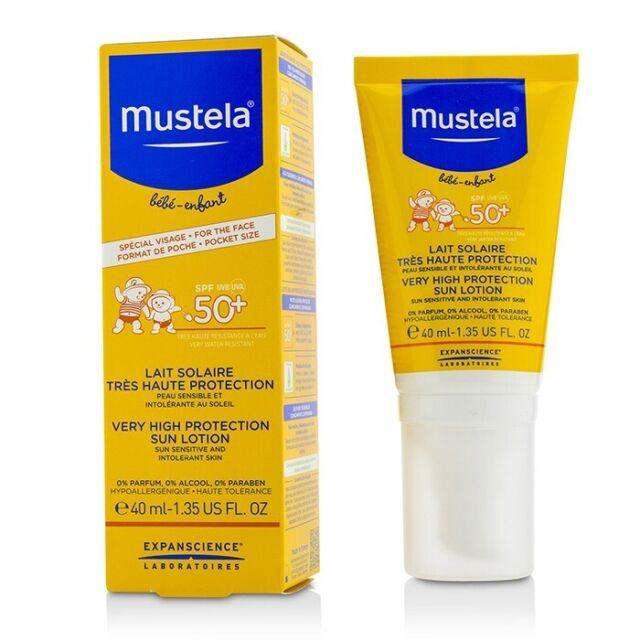Mustela Very High Protection Sun Lotion SPF50+ - Sun Sensitive & Intolerant 40ml