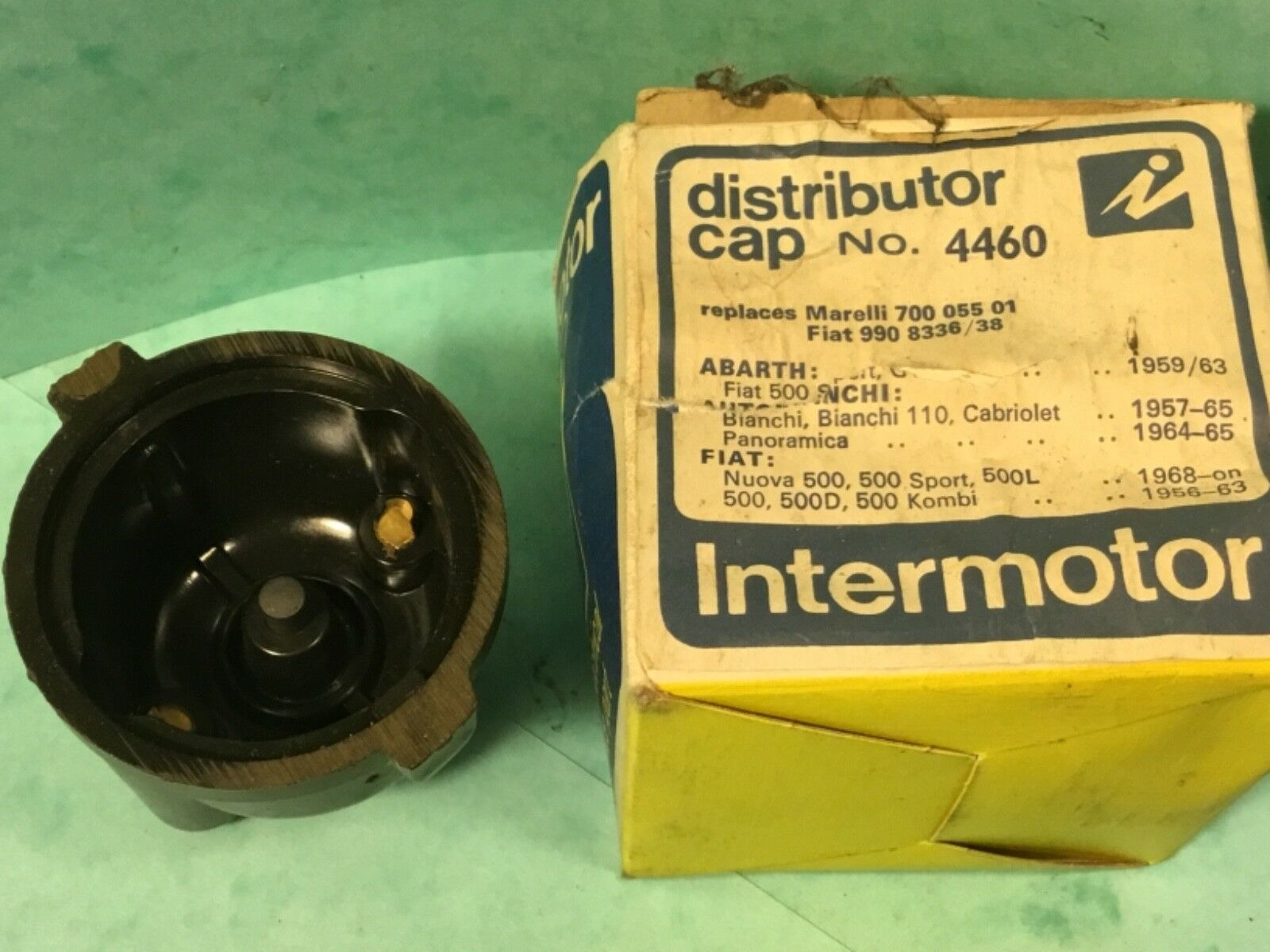 Car Distributor Cap Intermotor No4460 Fiat 500 Sport 500l D Kombi