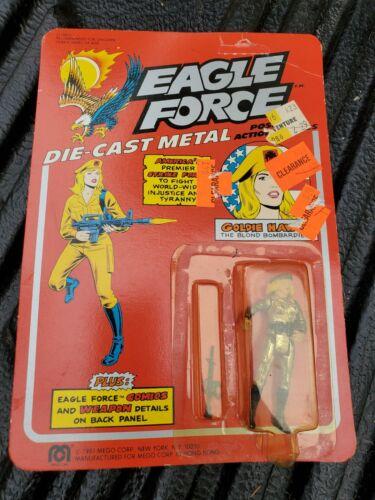 Mego Eagle Force Goldie HAWK DIE CAST SOLDAT METAL