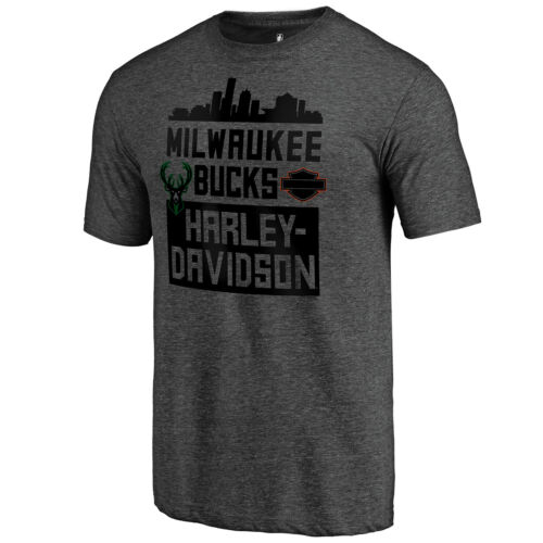 Limited Edition Harley-Davidson x Milwaukee Bucks All Together Now Tee
