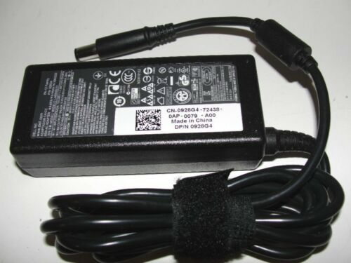 Genuine OEM DELL 19.5V 3.34A 65W PA-12 Laptop Power Supply AC Adapter w Cord