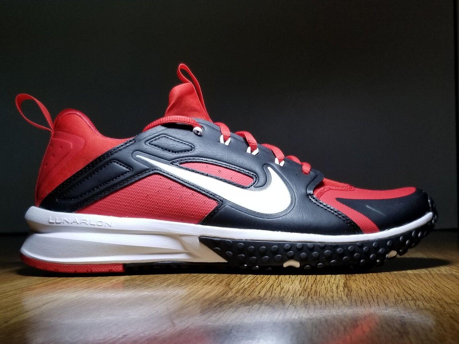 NEW Sz 8 Mens Nike Alpha Huarache Turf Men's Baseball Softball Trainer