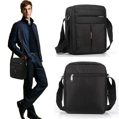 New Men's Vintage Oxford Shoulder Messenger Travel Hiking Bag Crossbody Satchel